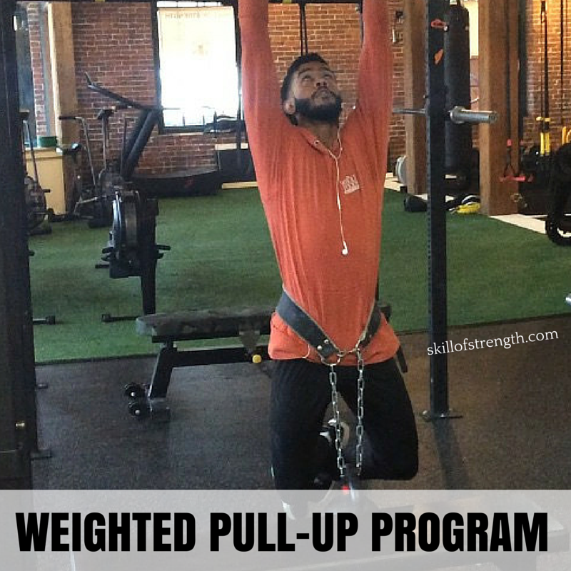 Weighted Pull-up Program