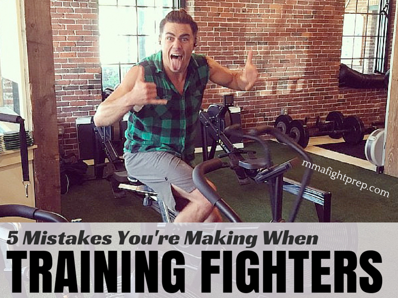 5 Mistakes Coaches Make When Training Fighters