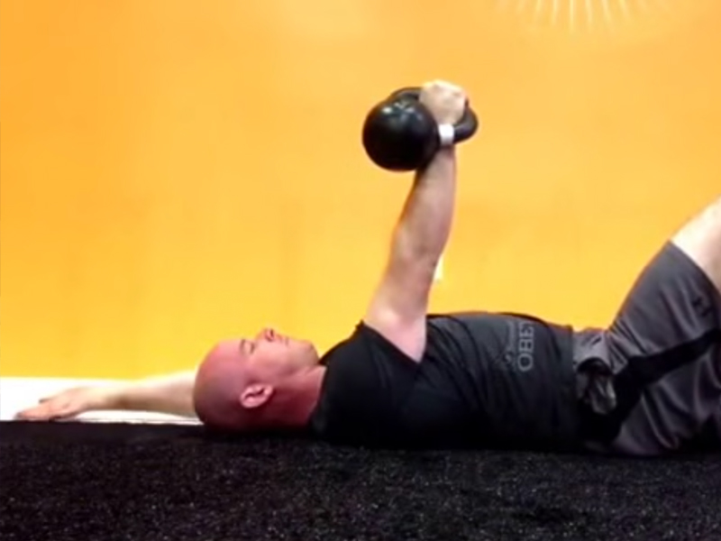 Exercise Video: Kettlebell Shoulder Mobility